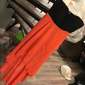Dresses & Skirts - Pink and black dress